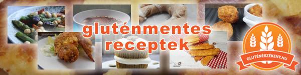gluténmentes receptek