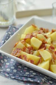 Krumplisaláta balzsamecetes öntettel - gluténmentes recept
