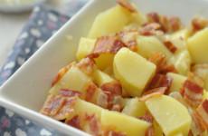 Krumplisaláta balzsamecetes öntettel - gluténmentes