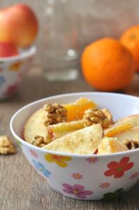 Diós almasaláta - gluténmentes recept