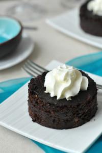 Mini gluténmentes csokitorta