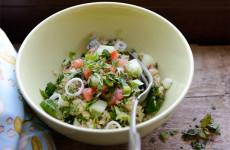 Quinoa tabbouleh - gluténmentes saláta recept