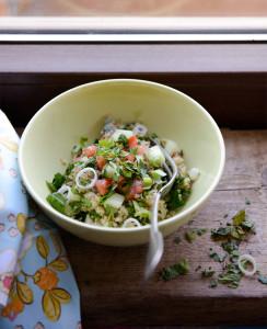 quinoa gluténmentes salátarecept