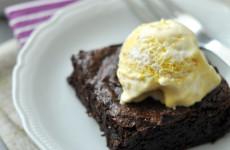 Gluténmentes brownie fagyival - 45 perc alatt kész
