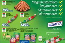 Gluténmentes termék akciók 2014 szeptember első felében