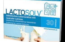 Laktáz enzim készítmény féláron: Lactosolv 30x kapszula