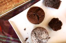 Dupla csokis muffin, amelyből nem lehet csak egyet enni