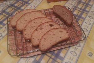 gluténmentes kenyér 5 lisztből készítve