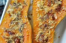 Töltött sütőtök - ötletes őszi gluténmentes recept