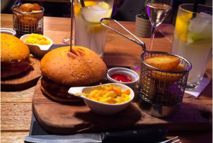 drop étterem gluténmentes hamburger