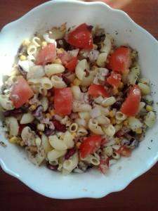 tonhalsaláta gluténmentes recept