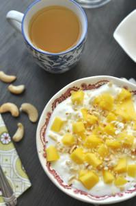kesudiós mangós joghurt