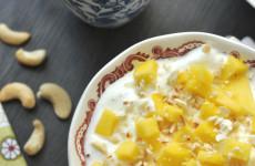 Kesudiós-mangós joghurt - 20 perc