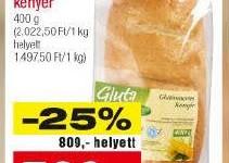 Akciós gluténmentes termékek 2015 március második fele