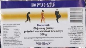 Bio Paleo szőlőmagőrlemény