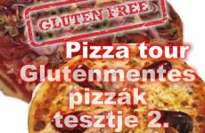 Gluténmentes pizzák tesztje: Glutenfree pizza tour 2
