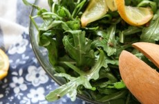 Citrusos rukkolasaláta – emeljük a rostbevitelünket!