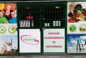gluténmentes termékek Budán a 3. kerületben
