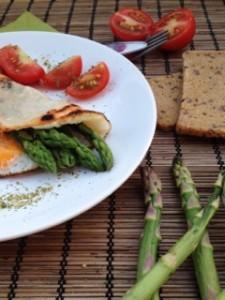 Ham & eggs gluténmentes reggeli - villám gyorsan