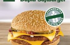 Gluténmentes sajtburger villám játék nyertesei