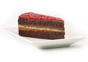 gluténmentes málnás csokitorta a McDonald's-ban