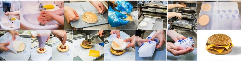 Így készül a biztonságos, gluténmentes dupla sajtburger a McDonald's-ban