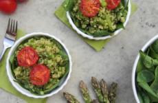 Zöld kölesrizottó - igazi vitamin és rostbomba 20 perc alatt