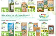 Akciós gluténmentes termékek 2015. június második fele