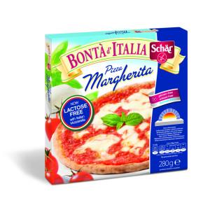 Schär mélyhűtött gluténmentes pizza margherita laktózmentes