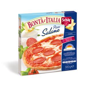 Schär mélyhűtött gluténmentes szalámis pizza