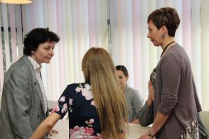 Dr.-Korponay-Szabó-Ilma a Szederinda gluténmentes étterem megnyitóján