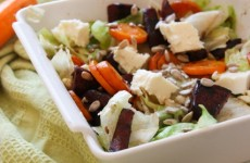 Sült répás-céklás gluténmentes saláta 15 perc