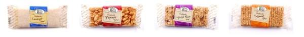 gluténmentes snack szeletek