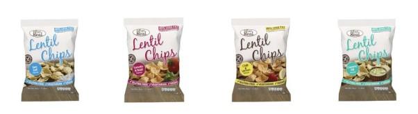 lencse chips - gluténmentes chips