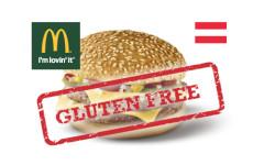 Az osztrák McDonald's több gluténmentes hamburgert vezetett be