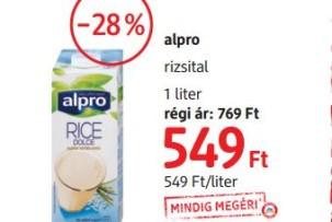 Alpro növényiital akció