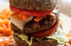 Házi gluténmentes hamburger