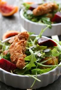 Mandulabundás csirkemell - gluténmentes panír, rántott hús