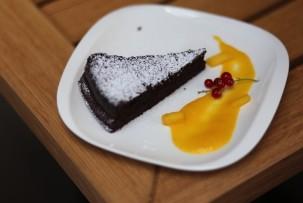 Drop gluténmentes étterem csokoládés brownie