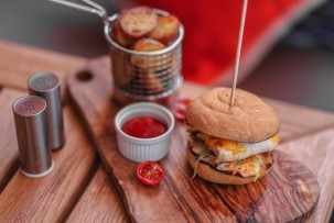 Drop gluténmentes étterem gluténmentes hamburger