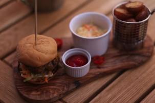 Drop gluténmentes étterem-gluténmentes hamburger marhahússal