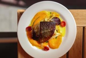 Drop gluténmentes étterem répás gyömbéres krumplipüré
