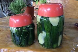 gluténmentes kovászos uborka készítés