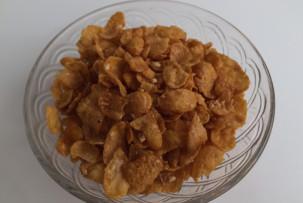 gluténmentes mézes mogyorós corn flakes