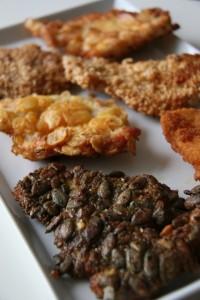 Különleges gluténmente panír ötletek. Gluténmentes rántott hús receptek