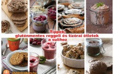 Gluténmentes étkezések az iskolában is! Tippek és receptötletek az iskolakezdéshez.