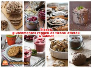 gluténmentes tízórai receptek az iskolához