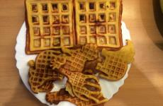 Kipróbáltuk a gofrisütőt kétféle GM gofrit is sütöttünk