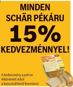 Schär pékárú akció Auchan