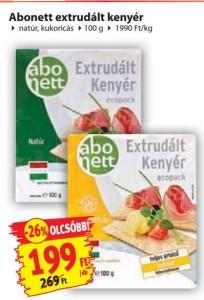 Penny-09.10-09.16 Abonett kukoricás gluténmentes extrudált kenyér